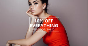 Get 10% of Everything in Store @ OwnItBae