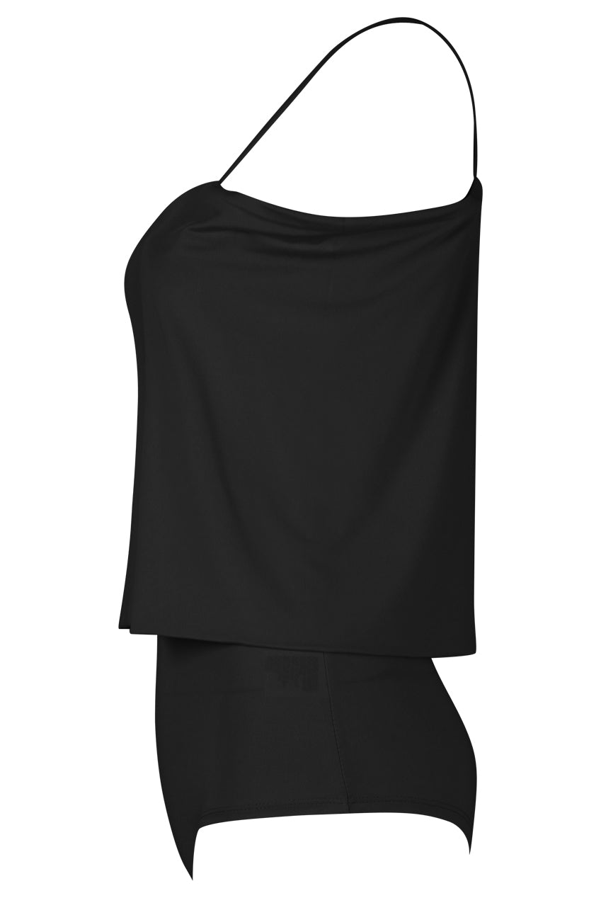 Dual Layer Cami Strap Bodysuit