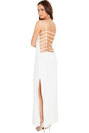CAGE BACK BEACH MAXI DRESS