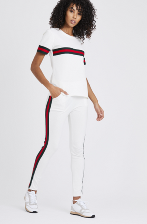 Stripe Tracksuit 'Gucci Vibes' Two Piece Set