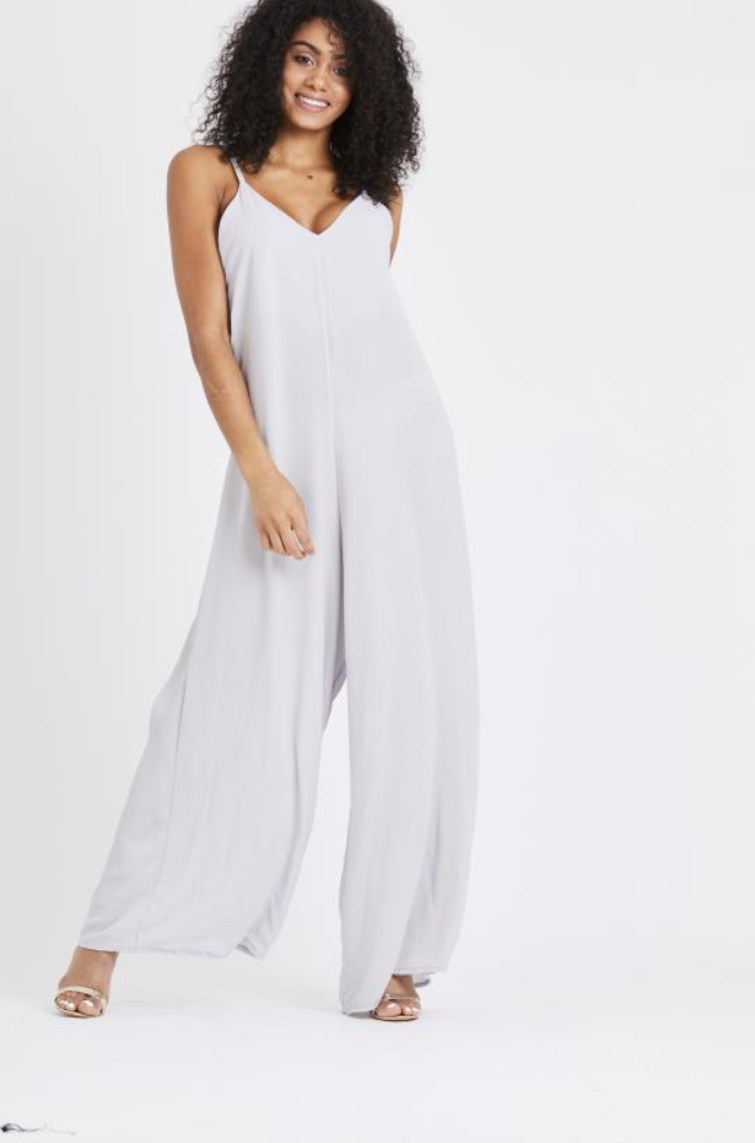 Flared Leg Jumpsuit - Multiple Colours
