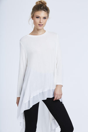 Chiffon Back Top