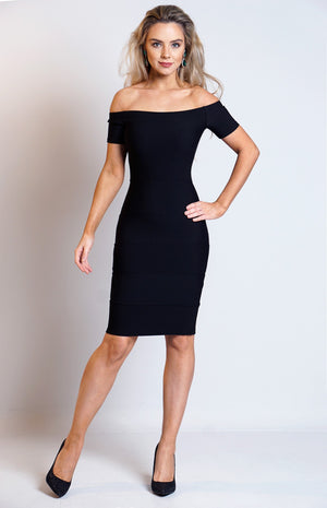 Maria Black Bardot Bandage Dress