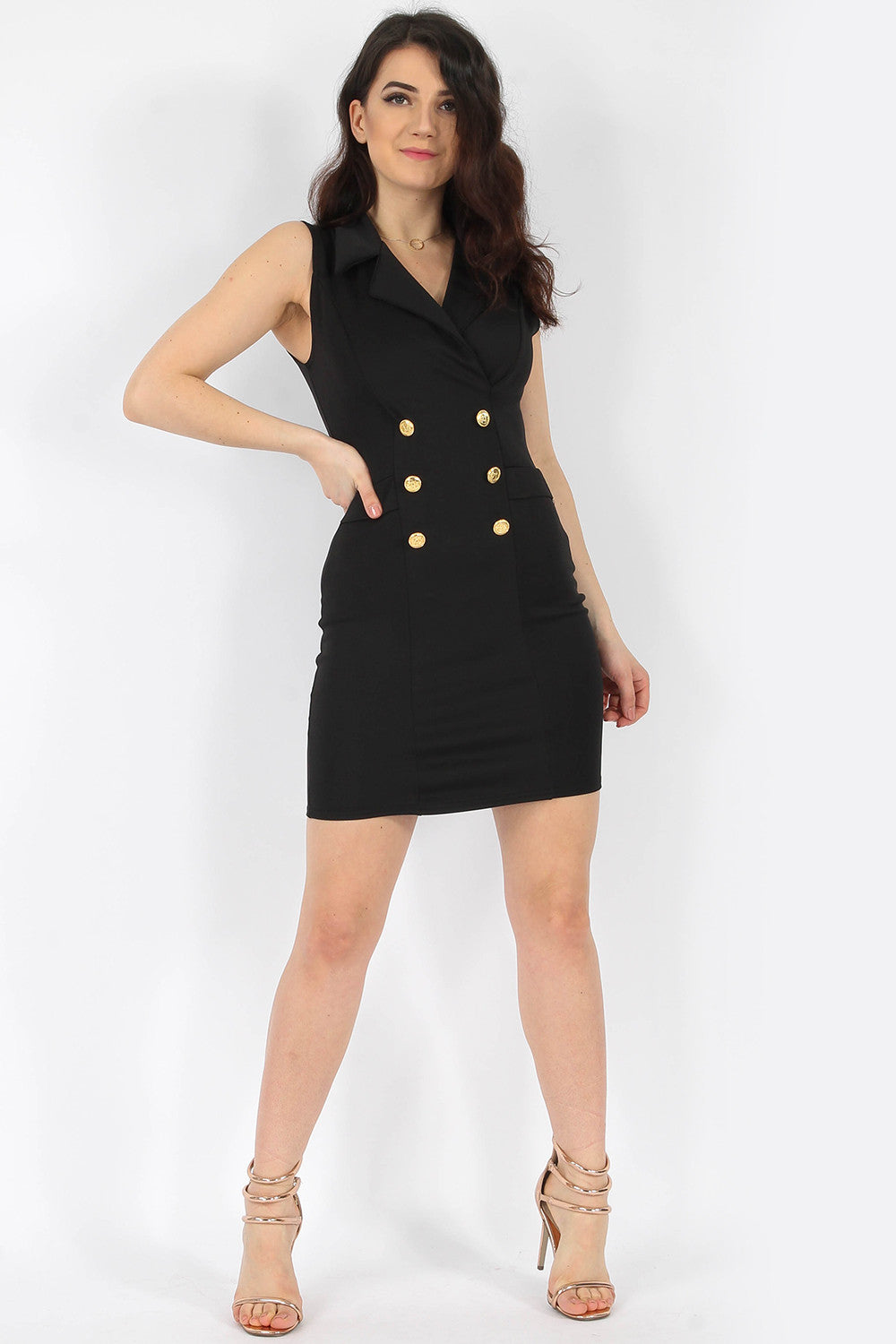 4a1ee27696 Tailored Sleeveless Blazer Dress – OWN IT BAE