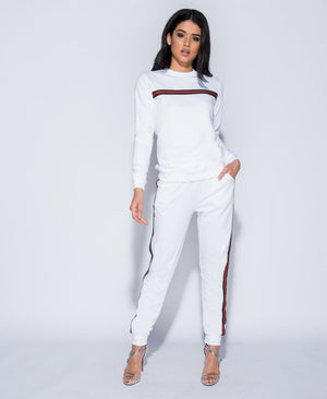 Stripe Detail Loungewear Set
