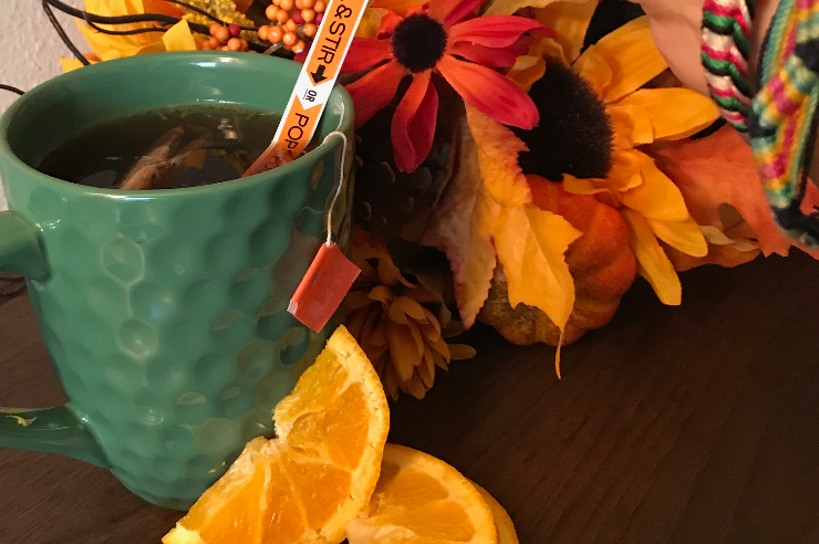 Energized Orange Cinnamon Tea