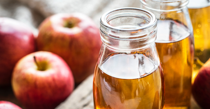 Hot Spiced and Energized Apple Juice