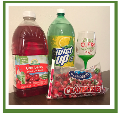 Cranberry spritzer ingredients