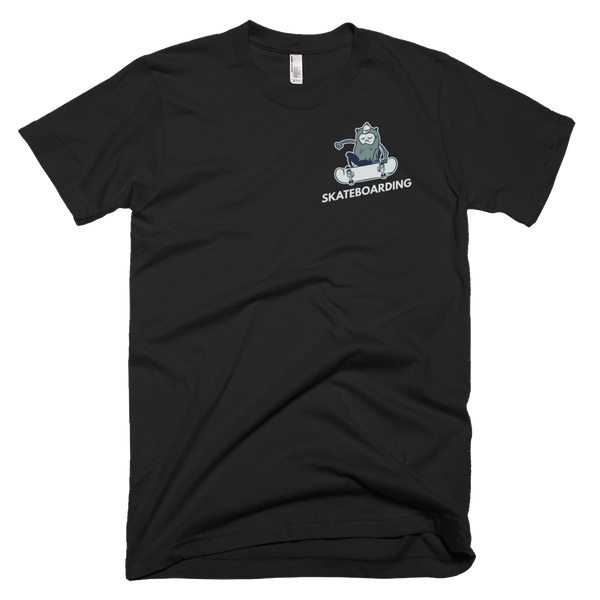 Short-Sleeve T-Shirt Skateboarding