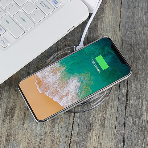 Wireless Charger Charging Pad for iPhone X and 8 Plus