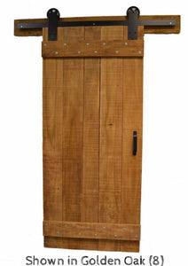 Barn Door - Single with horizontal cross brace