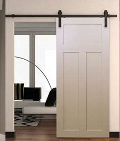 Barn Door - Custom 3 Panel Shaker