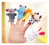 Image of Velvet Finger Animal Puppet Toy - [10 Pieces]