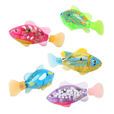 Image of Battery Powered Robofish Toy