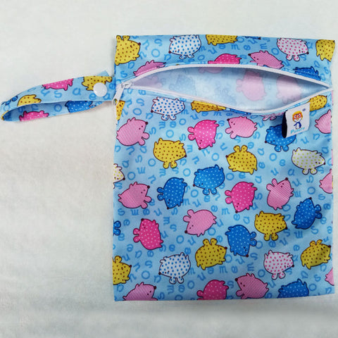 Image of Single Pocket Wet Diaper Bag