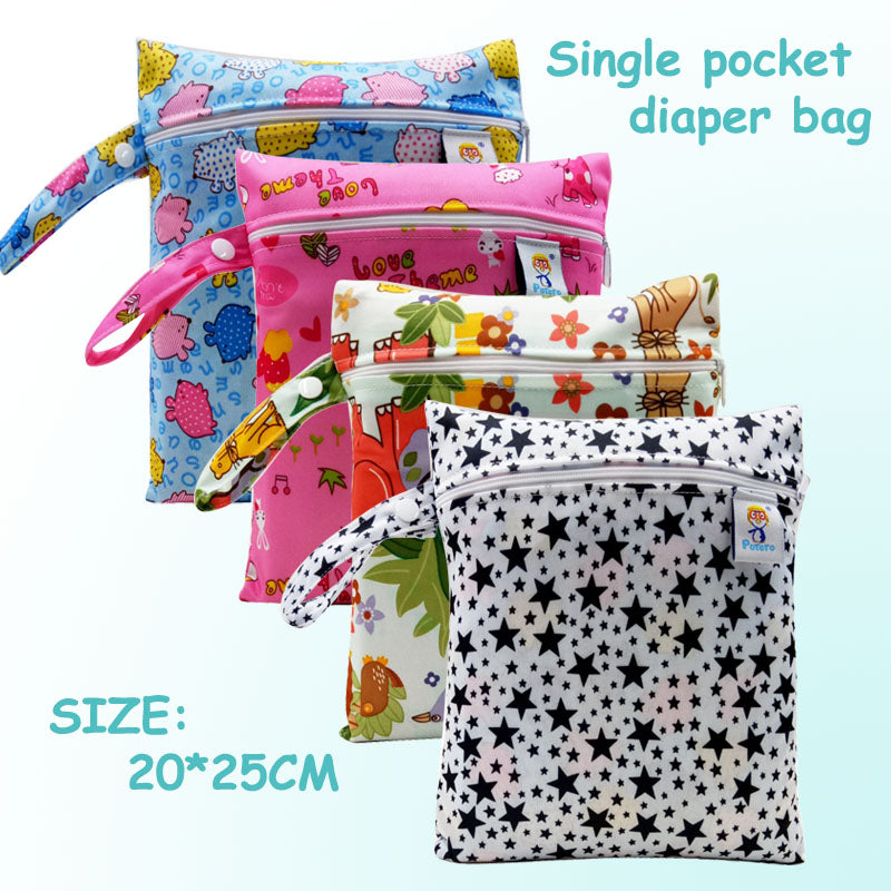 Single Pocket Wet Diaper Bag