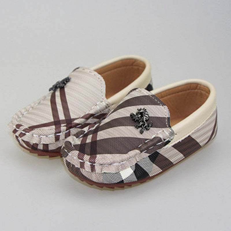 Kid's Loafer Leather Shoes - [3 Variants]