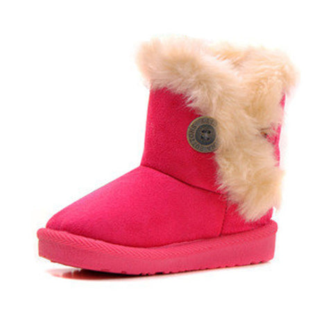 Image of red toddlers snow boots