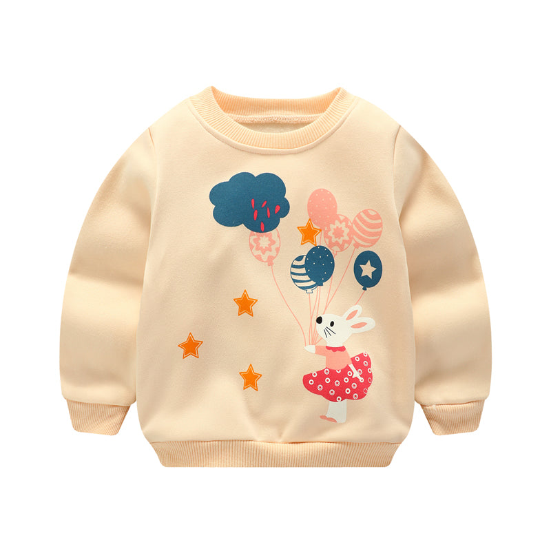 Baby Sweatshirt with an Adorable Design