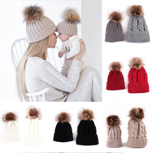 Matching Mum And Baby Hat