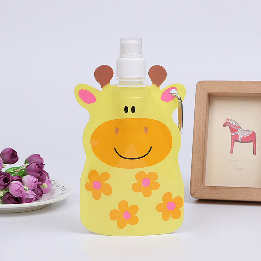 360 ml Eco-Friendly Foldable Cartoon Water Bag - [8 Variants]