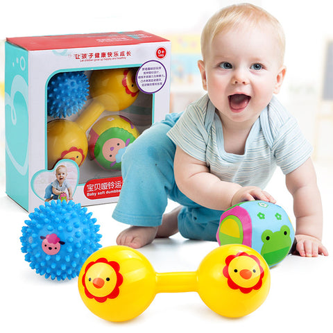 Baby Musical Soft Ball Rattle Toys