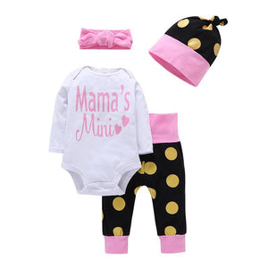 Newborn Baby Girls Clothes Set