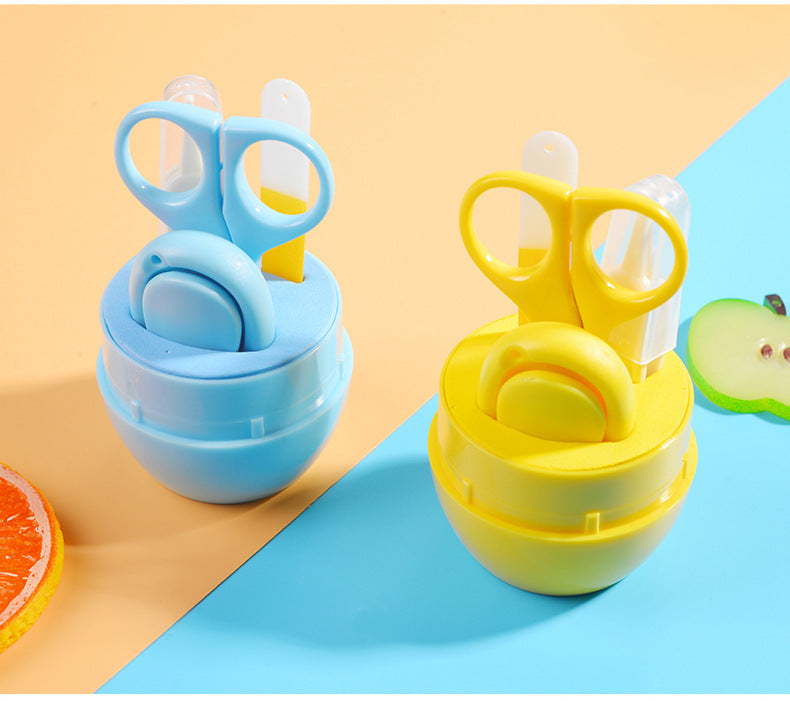 4 Pieces Baby Nail Care Set