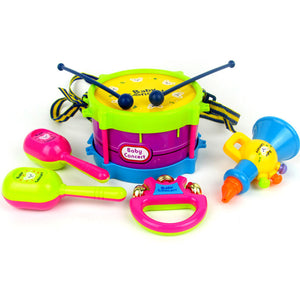 Kid's Musical Instrument Toys - [6 Pieces]