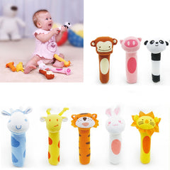 Cartoon Animal Shaped Baby Bell Toys - [9 Variants]