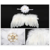 Image of Baby girl's Angel Wings and Headband - [2 Variants]