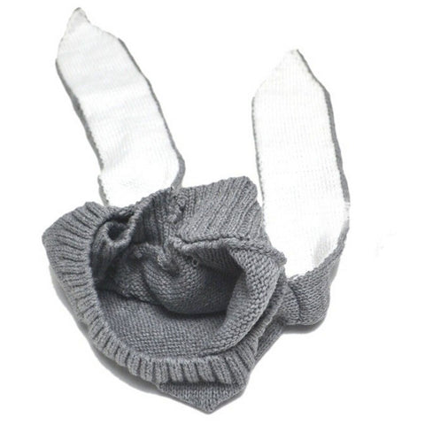 Baby Long Ear Rabbit Winter Hat