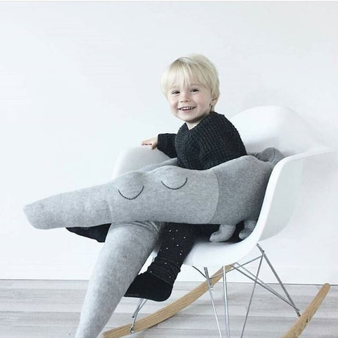 Image of Cute Crocodile Baby Bed Bumper