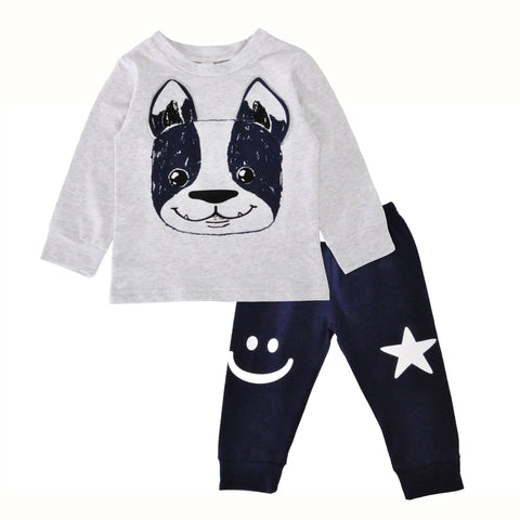 Image of Casual Smile Baby Short And Pants Set