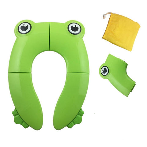 Image of Baby Portable Folding Training Toilet Seat