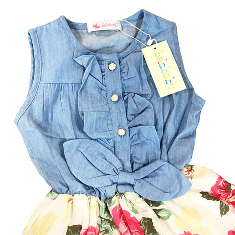Baby Girl Casual Summer Dress