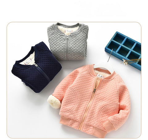 Image of Baby's Warm Long Sleeve Jackets