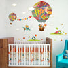 Image of Hot Air Balloons Removable Wall Sticker