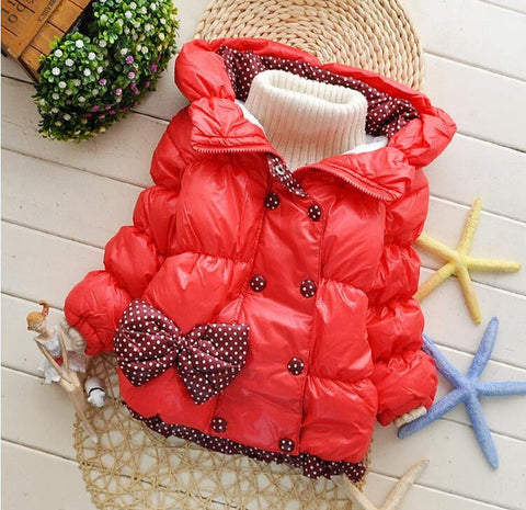 Image of Toddler Girls Winter Jacket