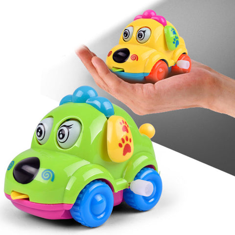 Image of Cute Clockwork Classic Car Baby Toy