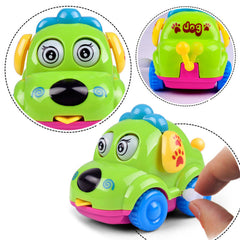 Cute Clockwork Classic Car Toy