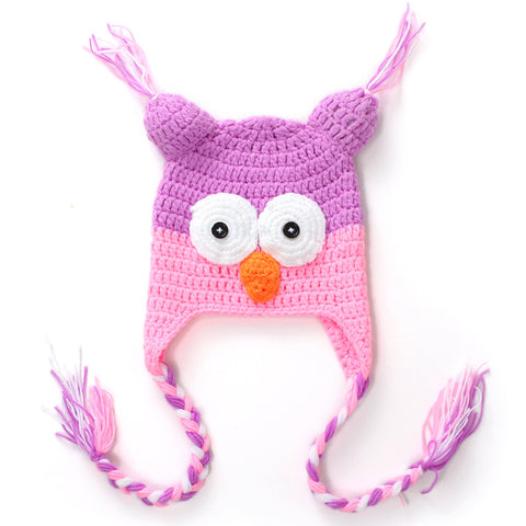 Image of Cute Hand-knitted Infant Hat - [9 Variants]
