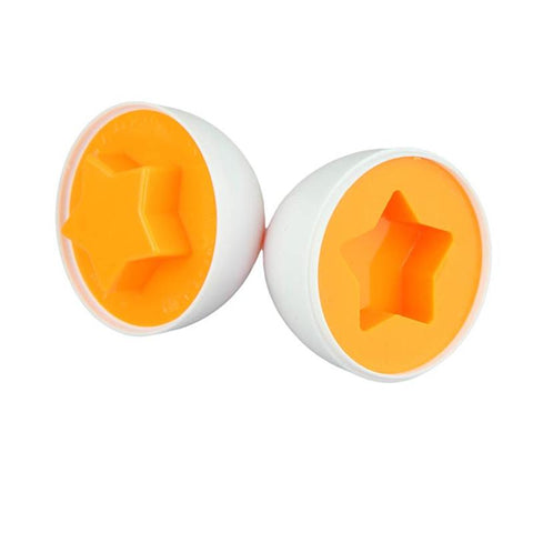 Image of 6 Egg Set Puzzle Smart Educational Toy