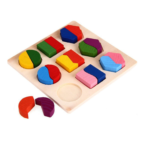 Image of Wooden Educational Puzzle Toys - [3 Variants]