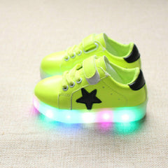 Colorful Led Light Star Sneakers - [4 Variants]