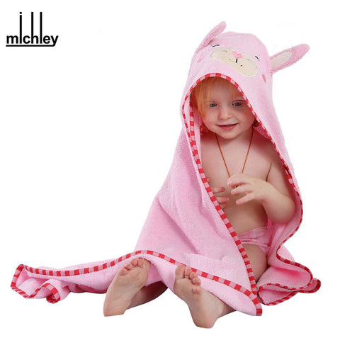 Image of Funny Animal Hooded Towel Bath - [5 Variants]