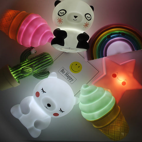 Novelty Night Light Lamp - [11 Variants]