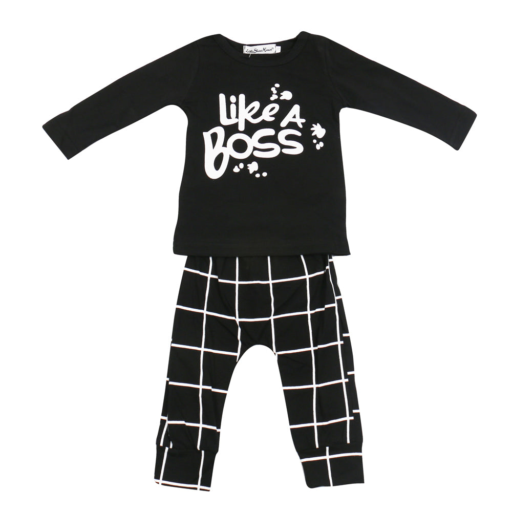 Like a Boss Baby Outfit Set
