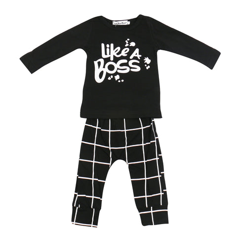 Image of Like a Boss Baby Outfit Set