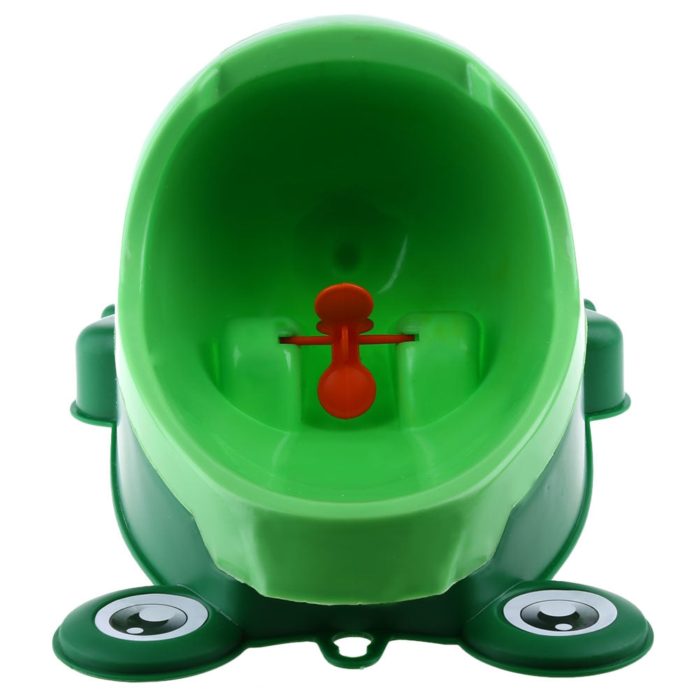 Baby Boy Training Frog Toilet